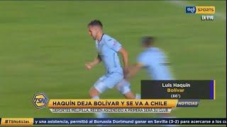 #TSNoticias ???? Haquín deja Bolivar y se va a Chile