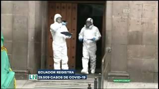 Ecuador registra 29.509 casos de Covid-19