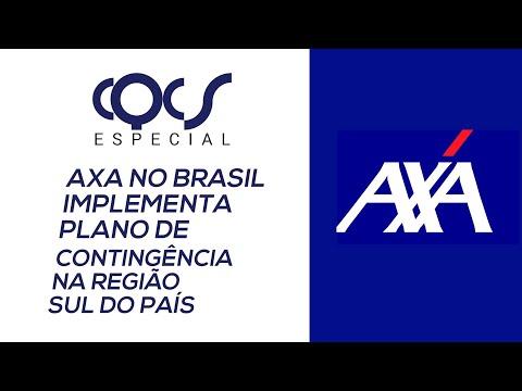 Imagem post: AXA no Brasil implementa plano de contingência na regiãol sul do país