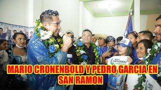 MARIO CRONENBOLD Y PEDRO GARCIA EN MUNICIPIO DE SAN RAMON ...