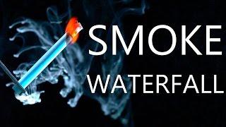 How To Make A Smoke Waterfall & Firey Smoke Combustion Experiments
