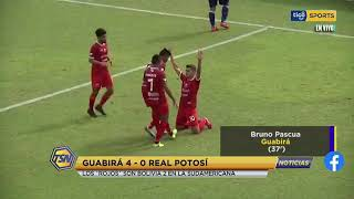 #TSNoticias ???? Los 'Rojos' son Bolivia en la Copa Sudamericana