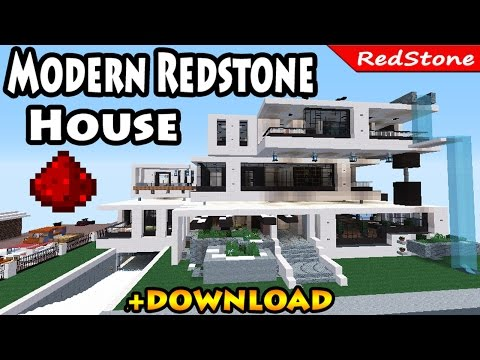 Download youtube to mp3 minecraft moderne luxus villa mit for Craftingpat modernes redstone haus