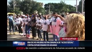 """Una de dos mujeres retira denuncia de """"acoso sexual"""" contra exfuncionario de Aduanas"""