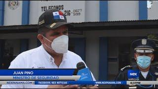 Ministro de seguridad recorre Panamá Norte