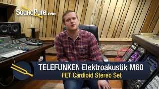 TELEFUNKEN Elektroakustik M60 FET Cardioid Stereo Set - Quick n' Dirty