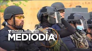 La Casa Blanca amaneció fuertemente custodiada para evitar disturbios | Noticias Telemundo