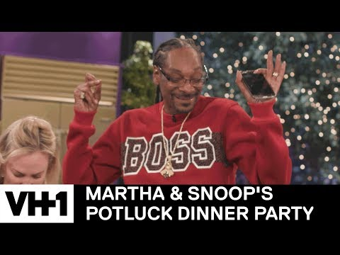Snoop Always on Beat | Martha & Snoop's Potluck Dinner Party