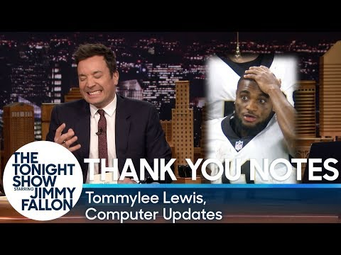 connectYoutube - Thank You Notes: Tommylee Lewis, Computer Updates