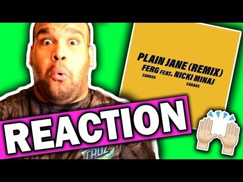 connectYoutube - A$AP Ferg ft. Nicki Minaj - Plain Jane REMIX [REACTION]
