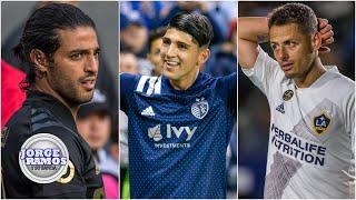 ACEPTA EL RETO A Alan Pulido LE GUSTA la rivalidad con Carlos Vela y Chicharito Hernández | JRYSB