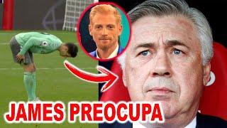 ANCELOTTI PREOCUPADO POR JAMES RODRIGUEZ Y EL PARTIDO ANTE SOUTHAMPTON VS EVERTON 2-0