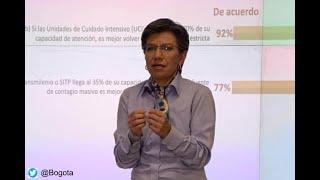 """""""Estamos a un punto de cerrar servicio zonal de Transmilenio"""", advierte Claudia López"""
