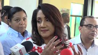 Primera Dama dice que todos los sectores deben unirse para enfrentar feminicidios