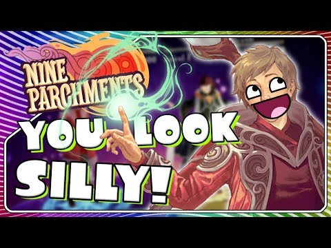 connectYoutube - Did you just LAZER ME?! | Nine Parchments