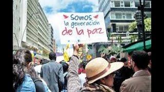 PROTESTA POR LA PAZ . BAJEN LAS ARMAS. BASTA DE GUERRAS, CRISIS, HAMBRUNAS Y CORRUPCION.