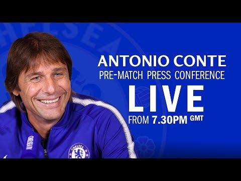 Chelsea v Barcelona | Antonio Conte press conference