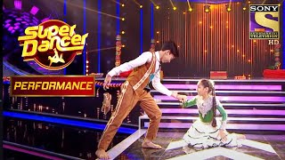 Arushi And Chandresh's Fun-Filled Act Amuses The Judges   Super Dancer Chapter 2 - SETINDIA