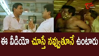 Barbers Comedy With Customers   Telugu Comedy Videos   NavvulaTV - NAVVULATV