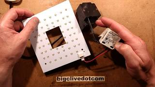 Autopsy on failed 240V LED garden lantern with PIR.