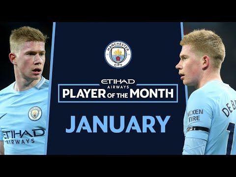I'M PRINCE HARRY! | Etihad Player of the Month | January | KDB