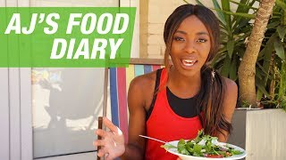 What I Eat In A Day | AJs Food Diary
