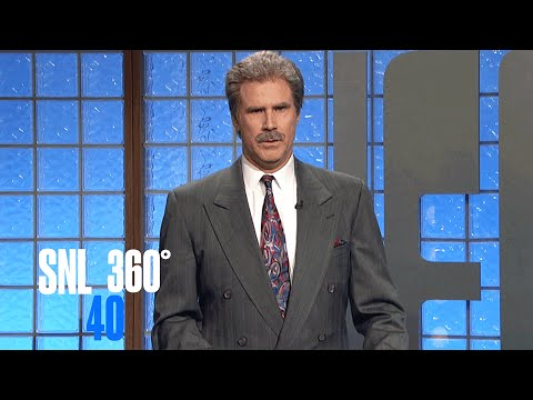 Celebrity Jeopardy (360°) - SNL 40th Anniversary Special