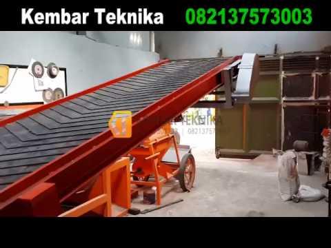 Mesin Conveyor Untuk Bongkar Muat Barang