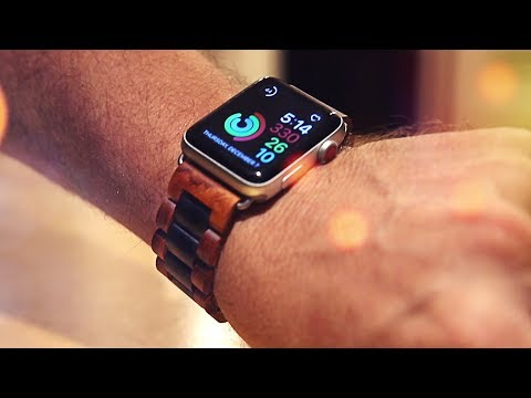 Ottm Wooden Apple Watch Bands Unboxing & Hands on