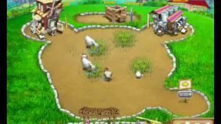 Игра Весёлая ферма. Печем пиццу