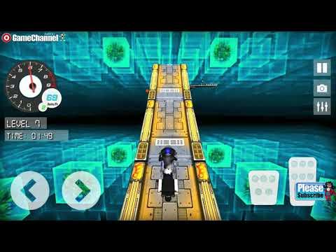 DairRider Bike Stunts Impossible Risky Sky Tracks / Crazy Motor Bike / Android Gameplay Video
