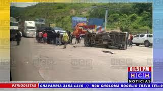 Solo daños materiales deja aparatosa colisión en bulevar del sur, Villanueva