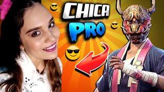 APUESTO MI CUENTA VETERANA CONTRA ESTA CHICA PRO EN FREE FIRE!!