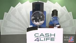 Sorteo del 26 de Marzo del 2020 (Cash4Life, Cash 4 Life, Cash Four Life, CashFourLife)