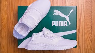 5f09caf91df Puma Tsugi Shinsei Triple White Review and On Feet
