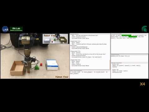 Program and  teach robots by natural language