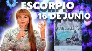 PREDICCIONES MHONI VIDENTE - Escorpio horóscopo de hoy 16 de Junio 2021 - Esa persona te ha visto