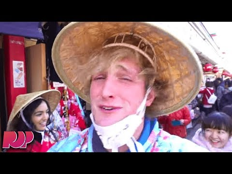 connectYoutube - The Rest Of Logan Paul's Tokyo Trip Was Just As Offensive