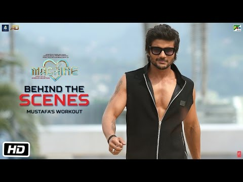 Machine Diaries | Behind The Scenes | Mustafa's Workout