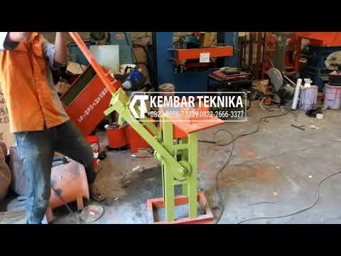 Alat Cetak Batako Paving Genjot | Hand Press