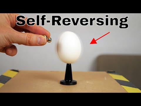 The Self-Reversing Spin Experiment—Easy Homemade Rattleback