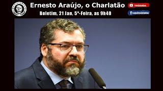 Ernesto Araújo, o Charlatão