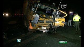 Seis personas fallecen tras sufrir un accidente de tránsito en Quito