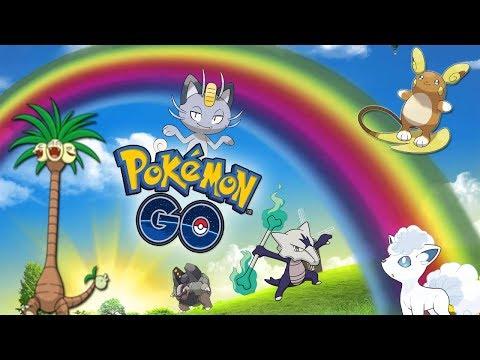 ¡NUEVA ACTUALIZACIÓN! FORMAS de ALOLA y NUEVO CLIMA ARCOIRIS en el CÓDIGO de Pokémon go! [Keibron]