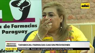 Tapabocas: Farmacias casi sin stock