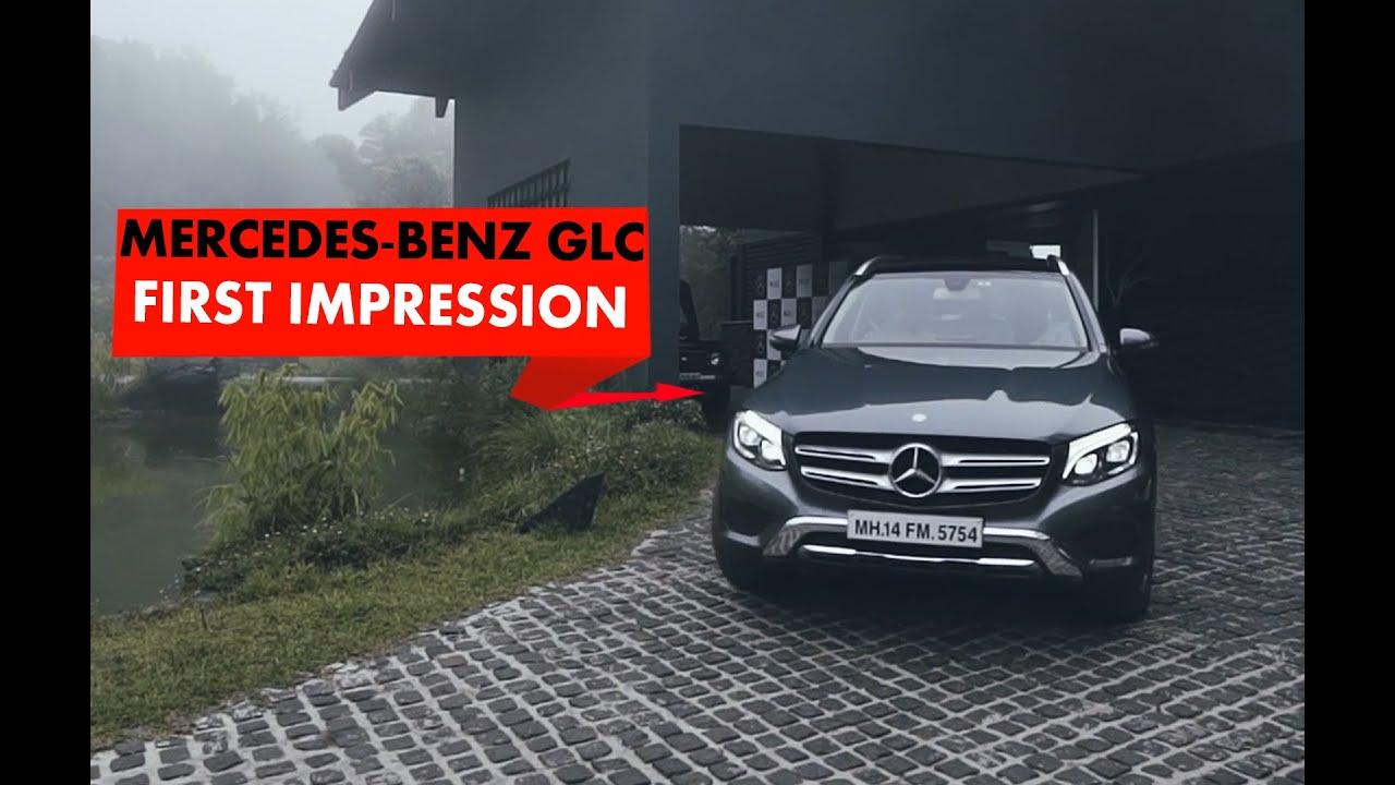 Mercedes Benz GLC : First Impressions : PowerDrift