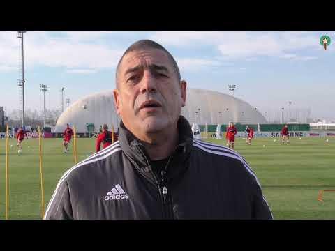 تصريح الدكتور هيفتي حول الحالة الصحية للاعبين قبل مباراة صربيا