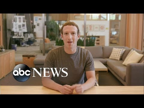 Mark Zuckerberg speaks out on data scandal