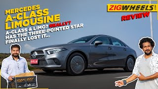 Mercedes A-Class Limousine: Actually a Limo or just a sedan? | First Drive Review | ZigWheels.com