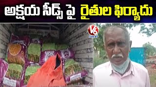 Farmers File Case On Akshaya Seeds In Suryapet  | V6 News - V6NEWSTELUGU